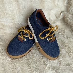 ⭐️NEW⭐️TOMMY HILFIGER Toddler Denim Shoes